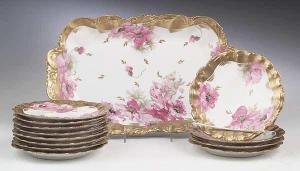 0728: A Limoges Porcelain Dessert Service