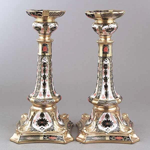 0732: A Pair of Royal Crown Derby Porcelain