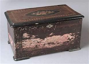 A Swiss Cylinder Music Box