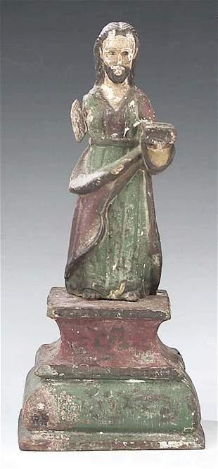 A Santos Figure of St. Joseph