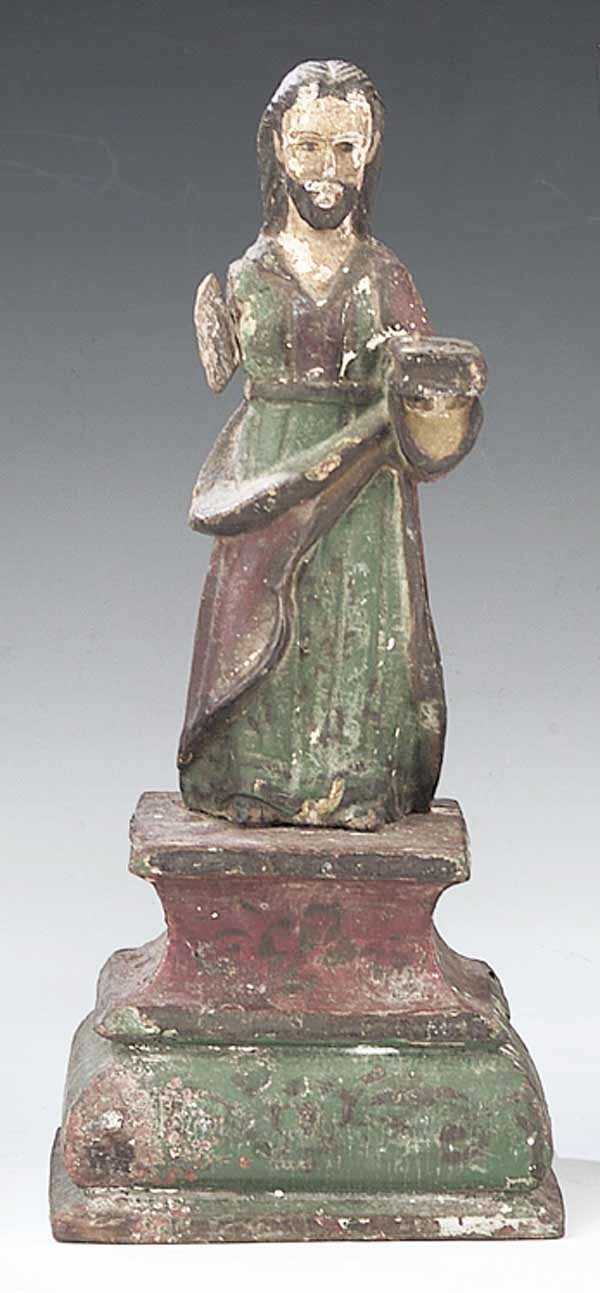 0740: A Santos Figure of St. Joseph