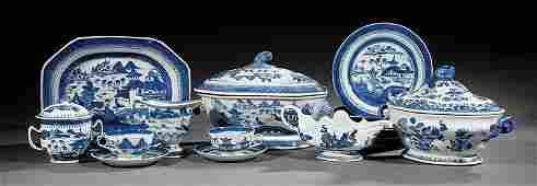 Assembled Chinese Export Porcelian Dinner Service