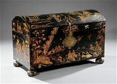 William and MaryStyle Japanned Dower Chest
