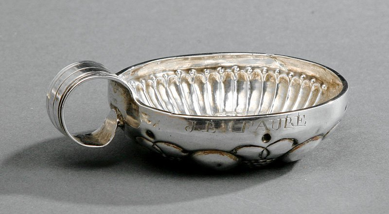 French First Standard Silver Tastevin