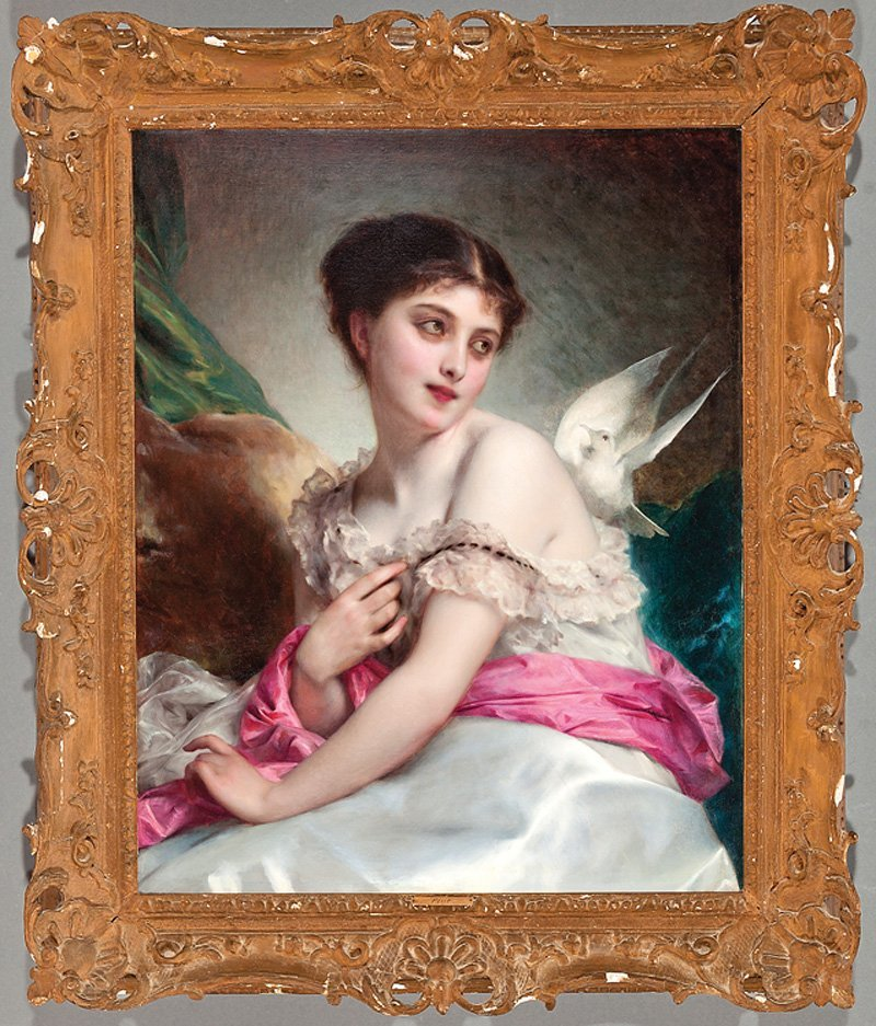 Adolphe Piot (French, 1850-1910)