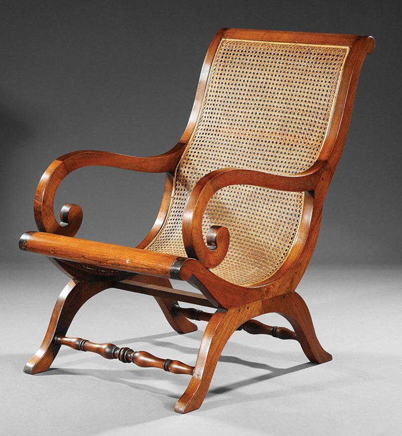 American Mahogany Campeche Chair