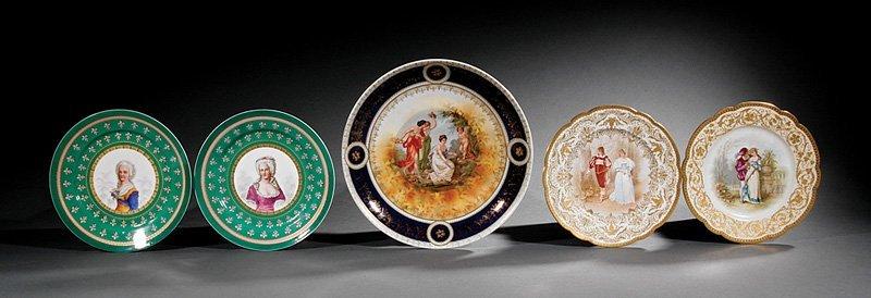 Dresden Porcelain Urn, SP Dresden mark - 5