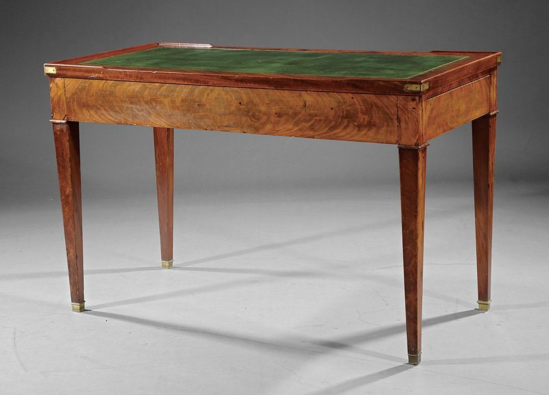 Louis Philippe Mahogany Tric-Trac Table