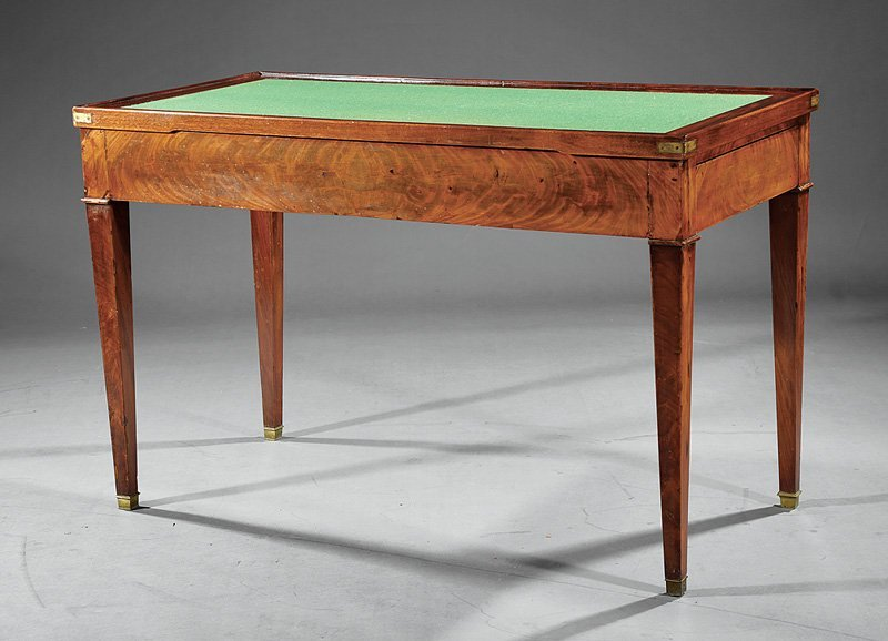 Louis Philippe Mahogany Tric-Trac Table - 3