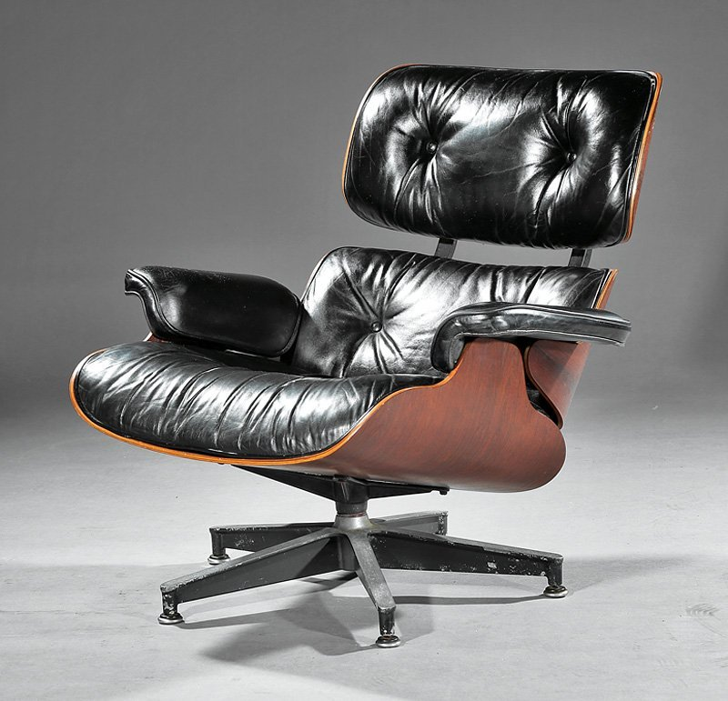 Eames Lounge Chair and Ottoman - 2