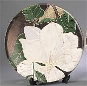 "726: A John Hodge Art Pottery ""Magnolia"" Ch"