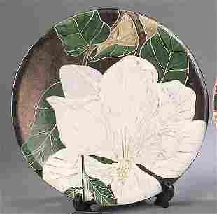 "A John Hodge Art Pottery ""Magnolia"" Ch"