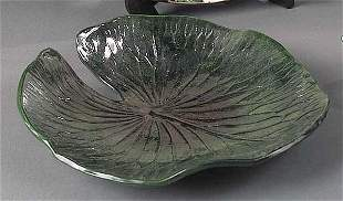 """A John Hodge Art Pottery """"Water Lily"""""""