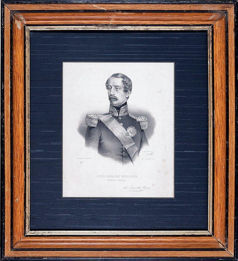 Five Prints of Napoleon III and Empress Eugenie