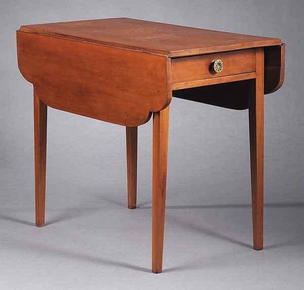 0002: American Cherrywood Pembroke Table