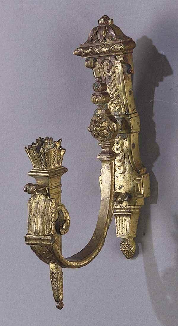 0009: Pair of Napoleon III Gilt Bronze Drapery Tiebacks