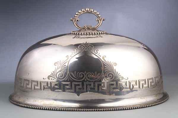 0015: Victorian Silverplate Venison Dome, Wilkinson & C
