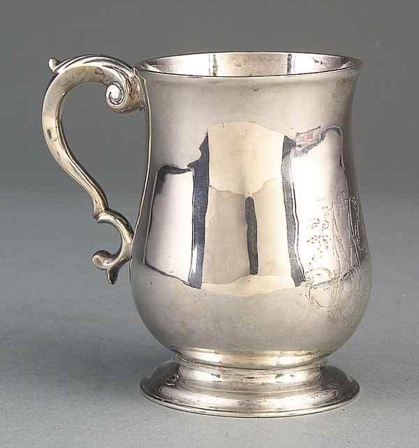 0171: American Coin Silver Cann, William Hackle, Baltim