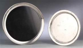 0240 Gorham Sterling Silver Serving Tray  Bakelite tr