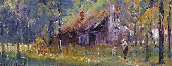 0314: Arthur Vidal Diehl, American, The Cabin, St. Augu