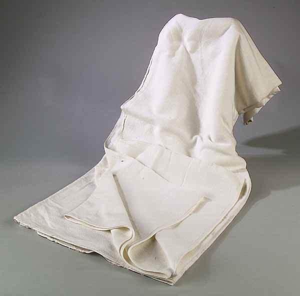 0665: Acadian Homespun Bed Sheet, Louisiana