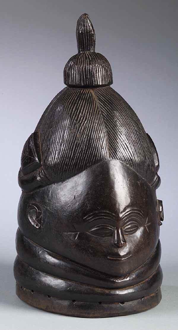 0711: Mende Artist, Sierra Leone, Mask