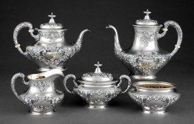 Gorham Sterling Silver Coffee/tea Service