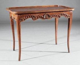 Louis Xv Walnut Table