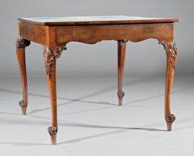 Georgian-style Mahogany Games Table