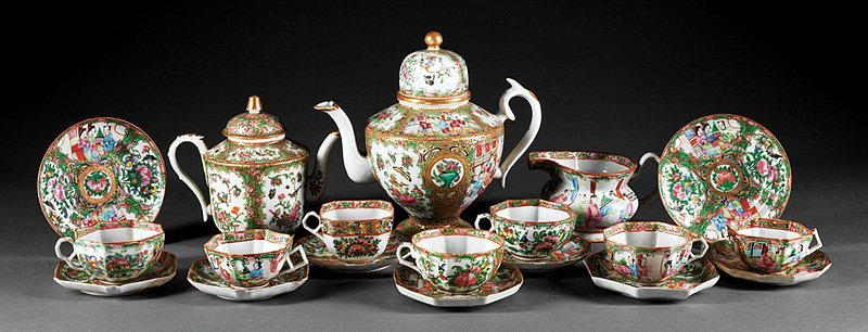 Chinese Export Partial Tea/Coffee Service