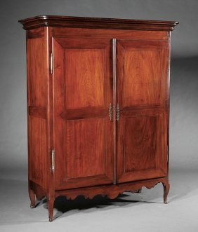 Pair Of Santo Domingo Mahogany Armoires