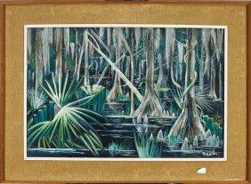 Paul Ninas (american/new Orleans, 1903-1964)