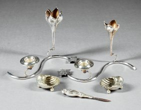 Group Of Silverplate Items