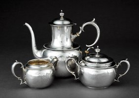 Whiting Sterling Silver Tea Service