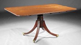 George Iii Mahogany Pedestal Dining Table