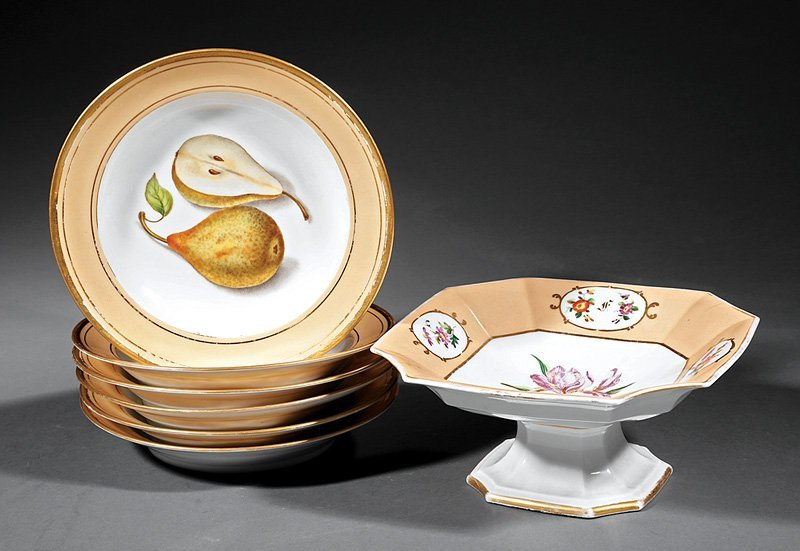 Paris Porcelain Octagonal Tazza