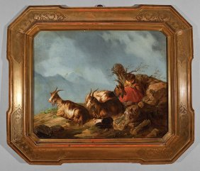 Attributed To Giuseppe Lanfranchi (italian)