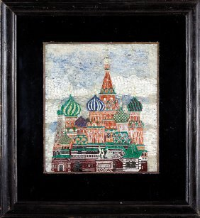 Mosaic Of St. Basil's Cathedral