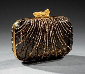 Judith Leiber Crystal Bead, Acrylic Evening Bag
