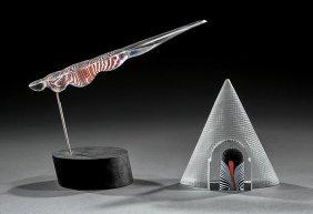 Contemporary Art Glass Sculpture, Bertil Vallien