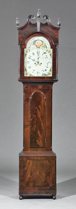 Mahogany Tall Case Clock, George Baldwin