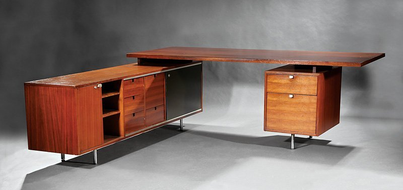 "George Nelson for Herman Miller ""Executive Desk"""