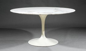"Eero Saarinen Tulip Dining Table, ""knoll"""