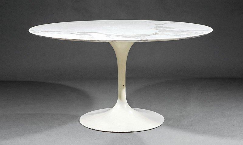"""Eero Saarinen Tulip Dining Table, """"Knoll"""""""