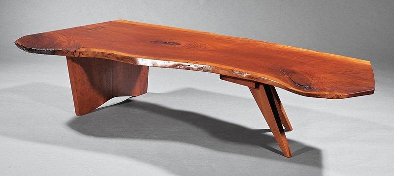 George Nakashima Cherrywood Coffee Table
