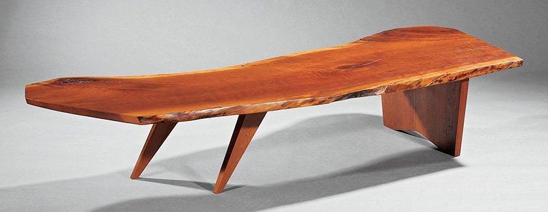 George Nakashima Cherrywood Coffee Table - 2