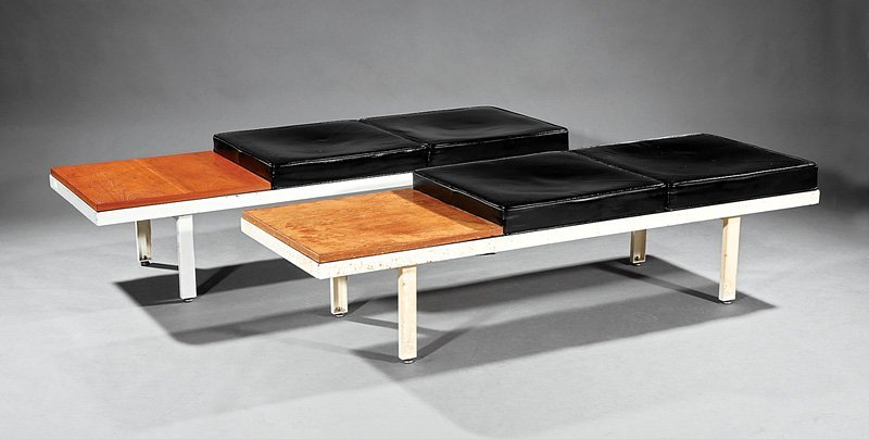 Pair of George Nelson Contract System Benches