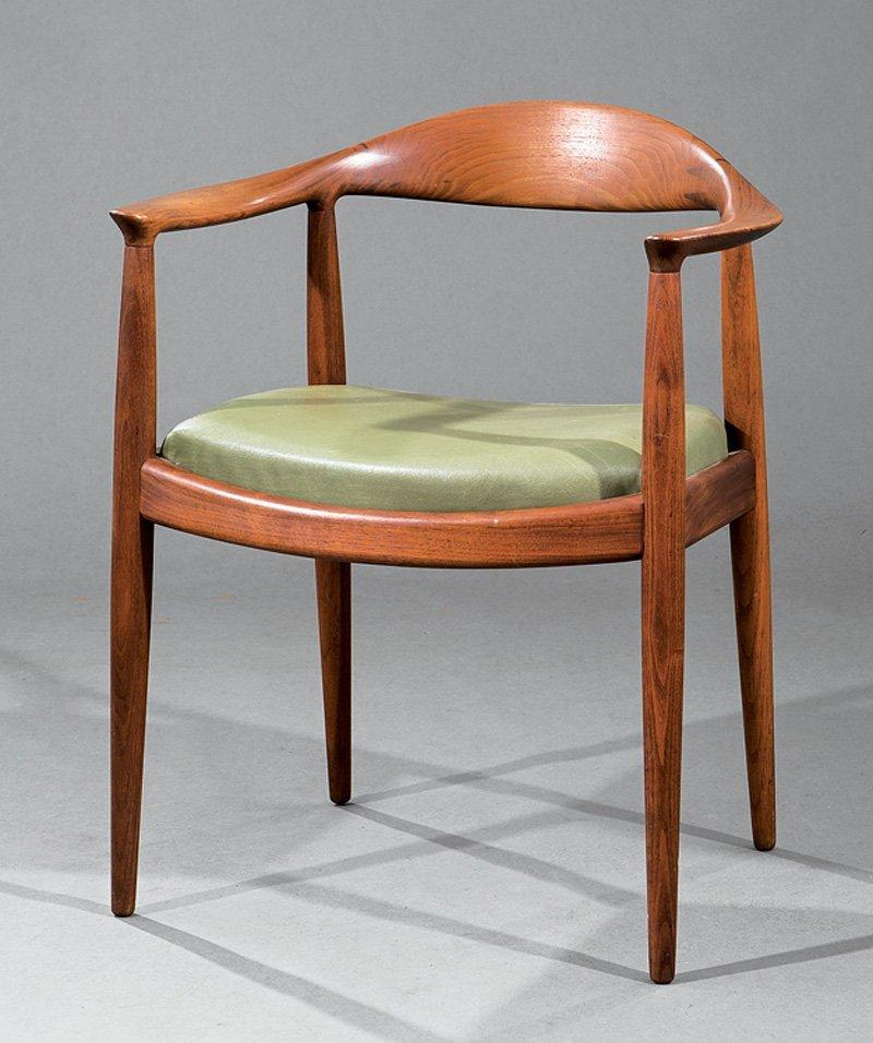 """Hans Wegner for Hansen/Knoll Teak """"The Chair"""""""