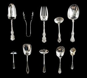 American Sterling Silver Serving Pieces