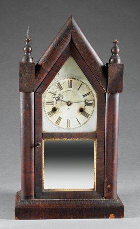 Three American Gothic-style Clocks